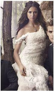 Stefan Elena Damon - The Vampire Diaries Wallpaper