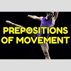 Prepositions Of Movement In English  Espresso English