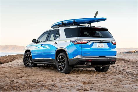 chevy traverse  concept proves lifes  beach