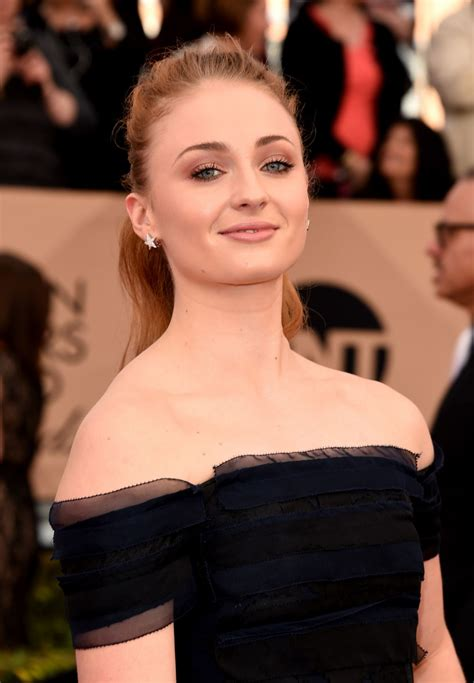 SOPHIE TURNER at Screen Actors Guild Awards 2016 in Los ...