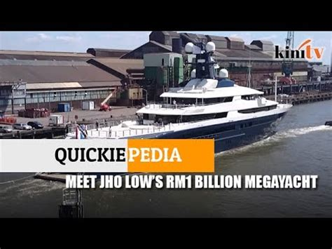 Yacht Jho Low by Quickiepedia Meet Jho Low S Rm1 Billion Mega Yacht Youtube