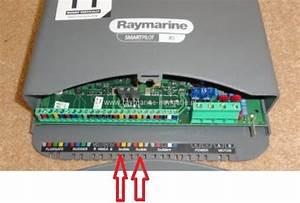 Raymarine Sfstandsbediening Overzicht