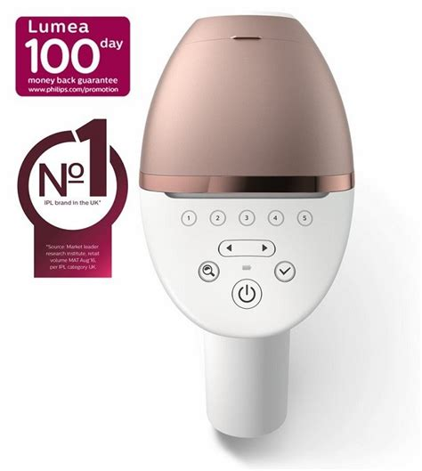 philips lumea prestige ipl bri hair removal device review