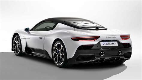 Maserati presenta ufficialmente la MC20 e il nuovo logo ...
