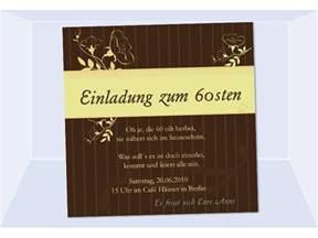 karten einladung hochzeit einladung 60 geburtstag fotokarte 12 5x12 5 cm braun