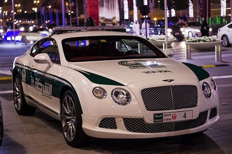 Top Most Expensive Fastest Police Cars In Dubai