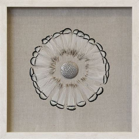 Feathers mount via clear adhesive; Brown Tipped Feather Circle Shadow Box Wall Décor | Bohemian wall decor, Feather circle, Accent wall