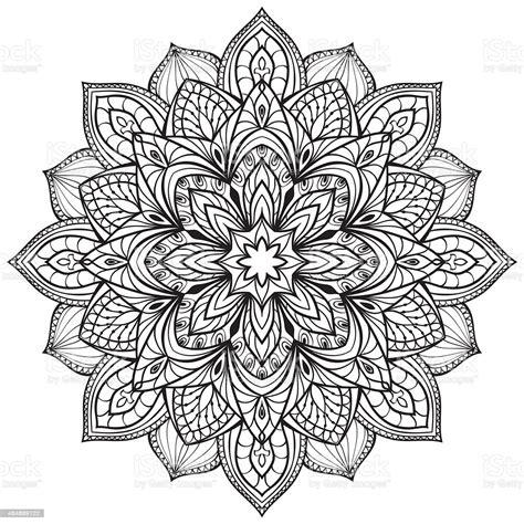 Mandala svg circle file, mandala clip art, cricut explore, silhouette cut file, png, eps, svg, ai, pdf, dxf, psd instant download. Vector Graphic Mandala Stock Illustration - Download Image ...