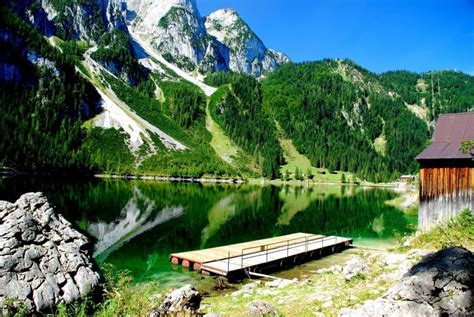 Round Lake Boat Rental by Bootsverleih Am Gosausee 187 Your Holiday In Gosau Austria