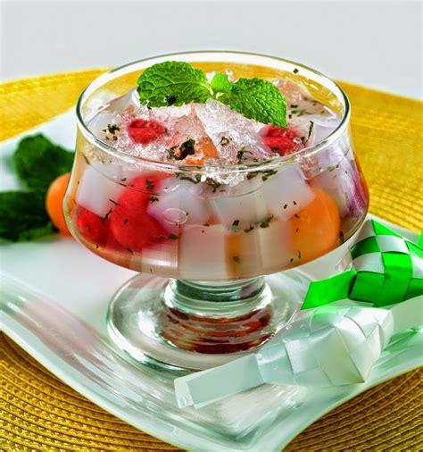 resep es buah selasih  nikmat  enak  membuat