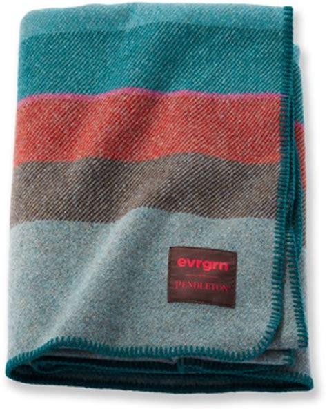 evrgrn pendleton wool blanket rei  op
