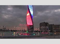 GRIVEN Baku Flame tower 1MTS YouTube