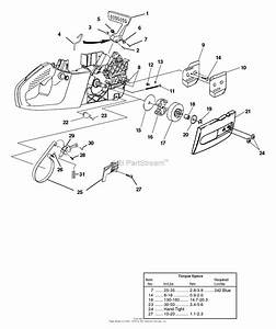 Homelite Ranger 33cc 16 U0026quot  Chain Saw Ut-10926 Parts Diagram For Clutch - Hand Guard