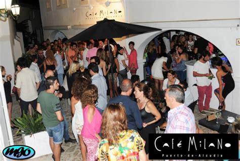 puerto de alcudia cafe milano wwwmallorca nightscom