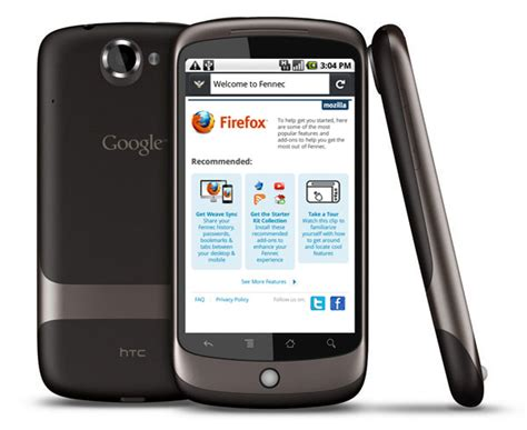 firefox mobile arrives on android