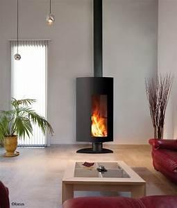 Cheminée à Bois : cheminee stofocus foyer bois ferm haut rendement ~ Premium-room.com Idées de Décoration