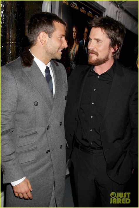 Bradley Cooper Christian Bale American Hustle Nyc