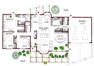 Solar House Plans Pictures by Ranch Passive Solar