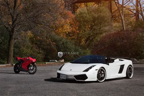 Lamborghini Gallardo Spyder On Strasse Forged Wheels