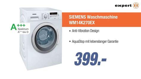 siemens waschmaschine angebot siemens waschmaschine wm14k270ex jubil 228 ums angebot der woche
