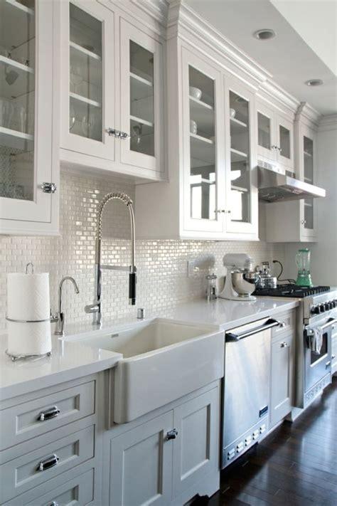 cuisines blanches 1000 idées sur le thème décoration de cuisine blanche sur