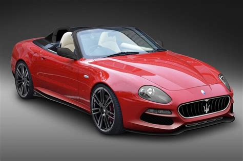 Red Convertible Maserati Spyder Cars Pinterest