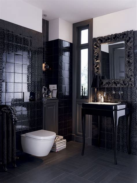 Modern Black Bathroom Ideas by 20 Best Images About His Hers Bathroom Designs On