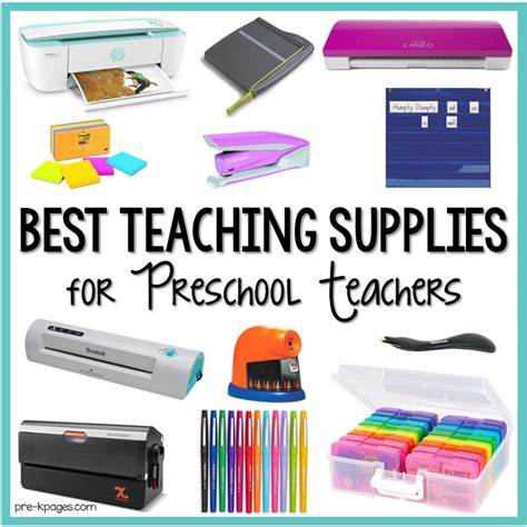 best teaching supplies for preschool teachers pre k pages 319 | Best Teaching Supplies for Preschool Teachers