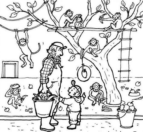Coloring Zoo by Zoo Coloring Pages Coloringpages1001