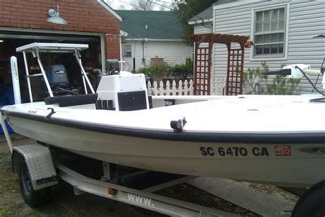 Bc Flats Boats For Sale by 1999 Back Country Ghost 161 Flats Boat The Hull