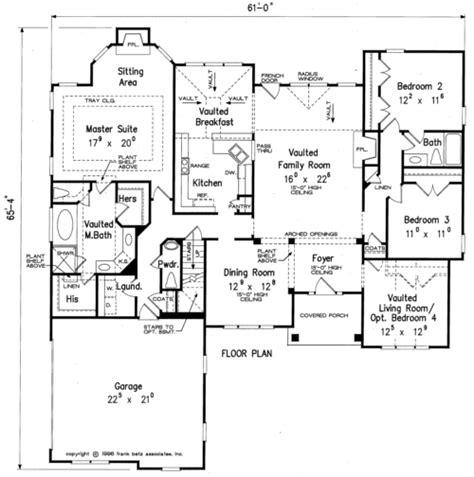 Frank Betz Summerlake Floor Plan by Cassidy Home Plans And House Plans By Frank Betz Associates