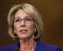 Judge Threatens Betsy DeVos With Jail  her ongoing failure (or refusal) to comply with court orders in a student loan case…
