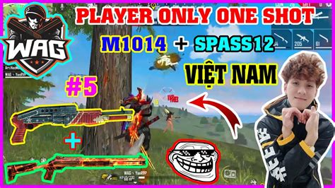 Subscribe is also this channel so you don't miss the latest videos.  Free Fire  Player Only OneShot ShotGun M1014 + Spass12 ...