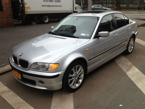 Buy Used 2003 Bmw 330xi All Wheel Drive, Silver, Leather