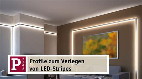 led streifen deckenbeleuchtung indirektes led licht yourled und duo und delta profile