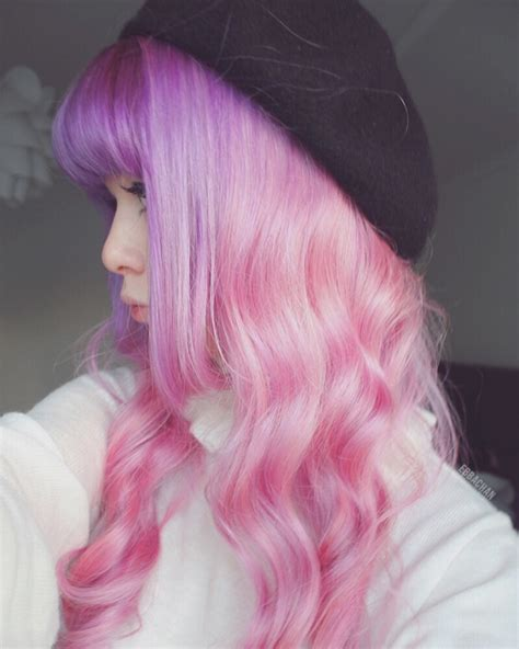 Pastel Purple And Pink Ombre Hair Colors Ideas
