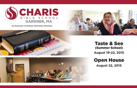 charis plymouth open house charis bible college