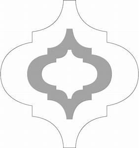 moroccan stencil car interior design With moroccan shapes templates