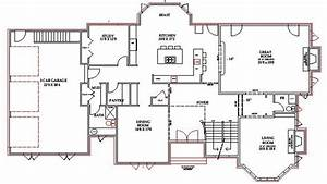 Lake home floor plans lake house plans walkout basement for Pictures of floor plans to houses