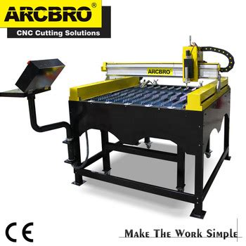 portable plasma cutting table arcbro battleship gt portable cnc plasma cutting machine