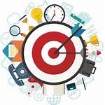 Vision Mission Icon Digital Goal Target General