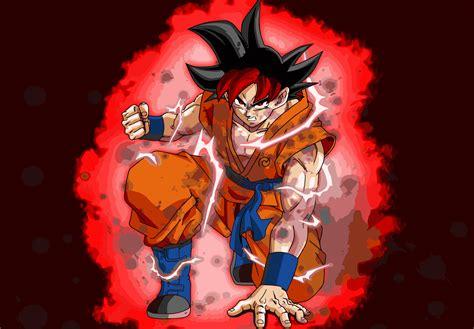 dragon ball super saiyan god pictures  cool
