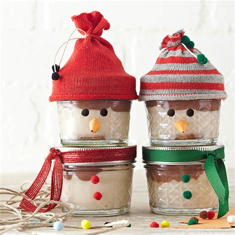 christmas food gifts recipes wrapping ideas  jars
