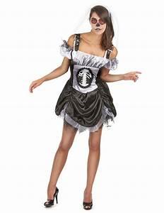 Halloween Skelett Kostüm : schickes halloween skelett kost m f r damen kost me f r ~ Lizthompson.info Haus und Dekorationen