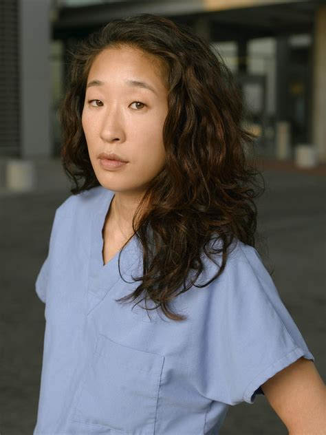sandra oh on grey s anatomy grey s anatomy promotional photoshoots sandra oh photo