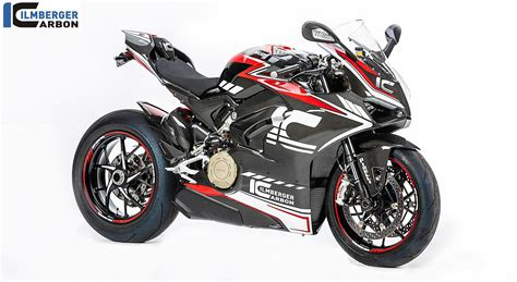 Ducati Panigale V4 Special Edition by Ilmberger Carbon S Ducati Panigale V4 Carbon Build Exposed
