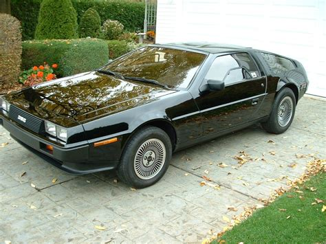 Black DeLorean, awesome or ruined? - Imgur