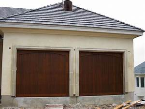 Custom carriage style garage doors john robinson decor for Carriage style garage doors kit