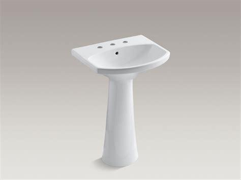 kohler cimarron pedestal sink biscuit standard plumbing supply product kohler k 2362 8 0