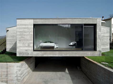 Minimalist Concrete House Design Concrete Block House